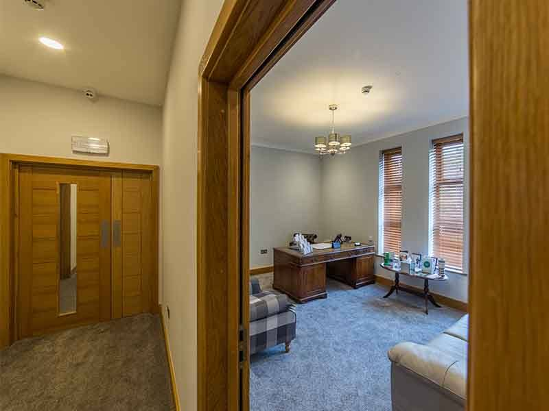 family room at arthur peake