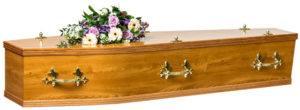 Foil Elm Coffin